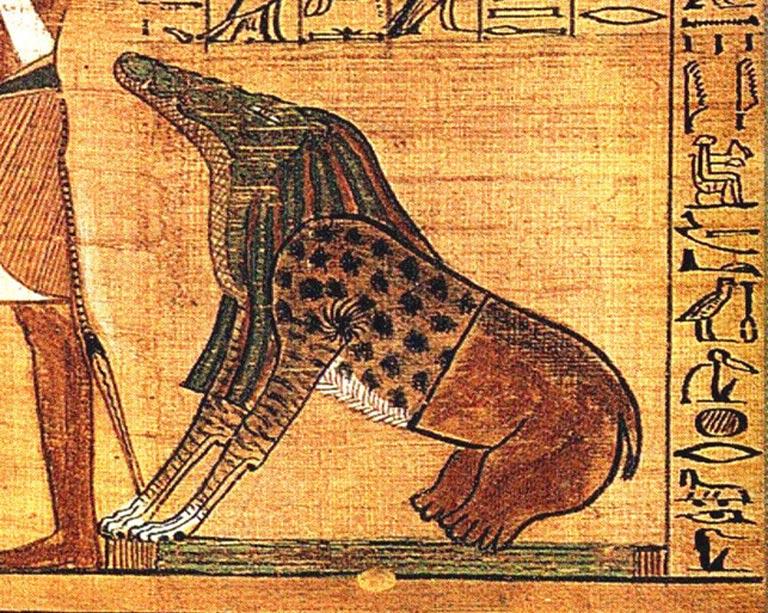 Ammyt- Demonio decapitador egipcio
