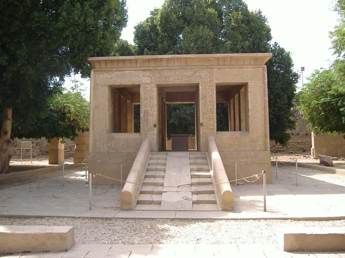 Capilla de Senusret I en Karnak