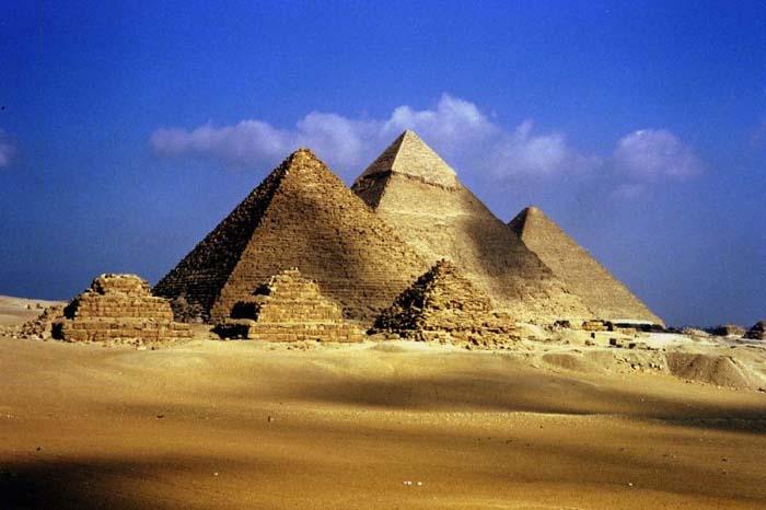Complejo de pirámides en Giza