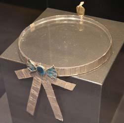 Diadema de plata de la XVII dinastía.