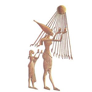Dioses-egipcios-Atón