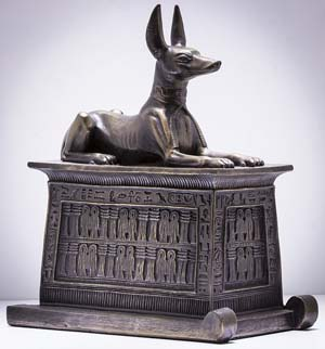 Estatuilla de Anubis