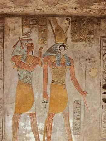 Geb y Horus