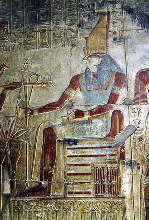 Horus - Templo de Seti I