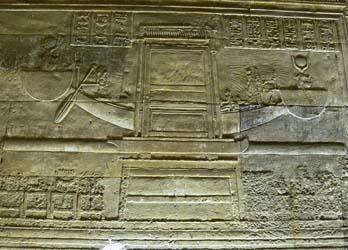 Isis en la Barca Solar de Ra