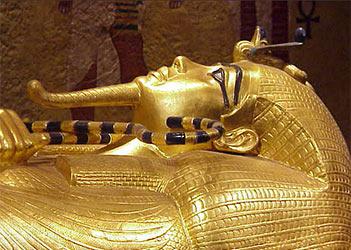 Sarcófago del rey Tut