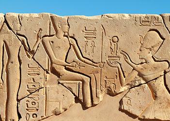 Seti ofrezco a Amun y Mut