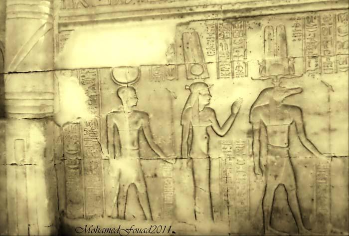 Sobek e Isis, templo de Kom Ombo