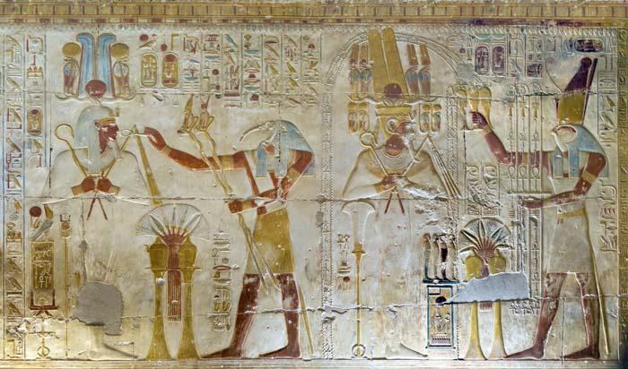 Templo de Seti I Abydos