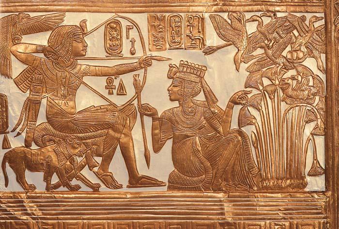Tutankamon y Ankhesenamun
