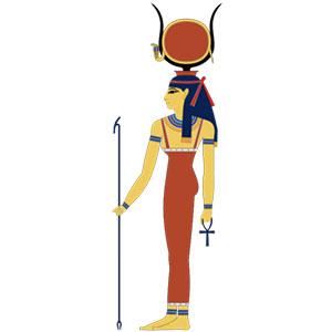 dioses-egipcios-Hathor