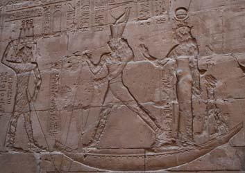 Horus derrotando a Seth