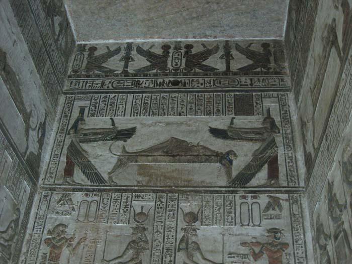 Sala Osiris en Dendera