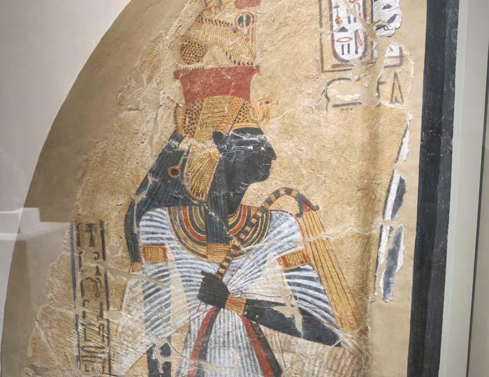 Representación de la reina Ahmose-Nefertari